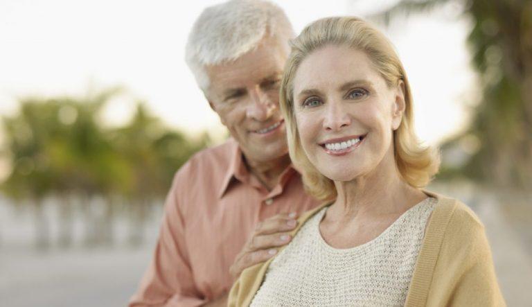 Senior Couple Smiling